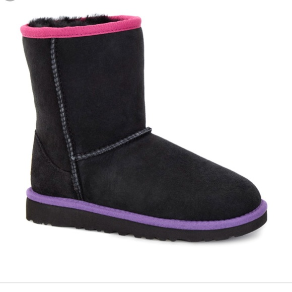 UGG Shoes   Cute Black Uggs Size 4 Kids
